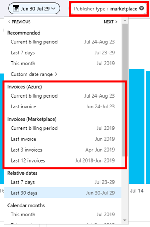 Azure Cost Management updates – July 2019