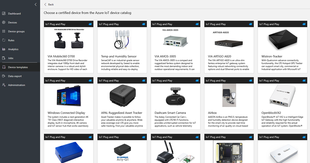 IoT Plug and Play is now available in preview
