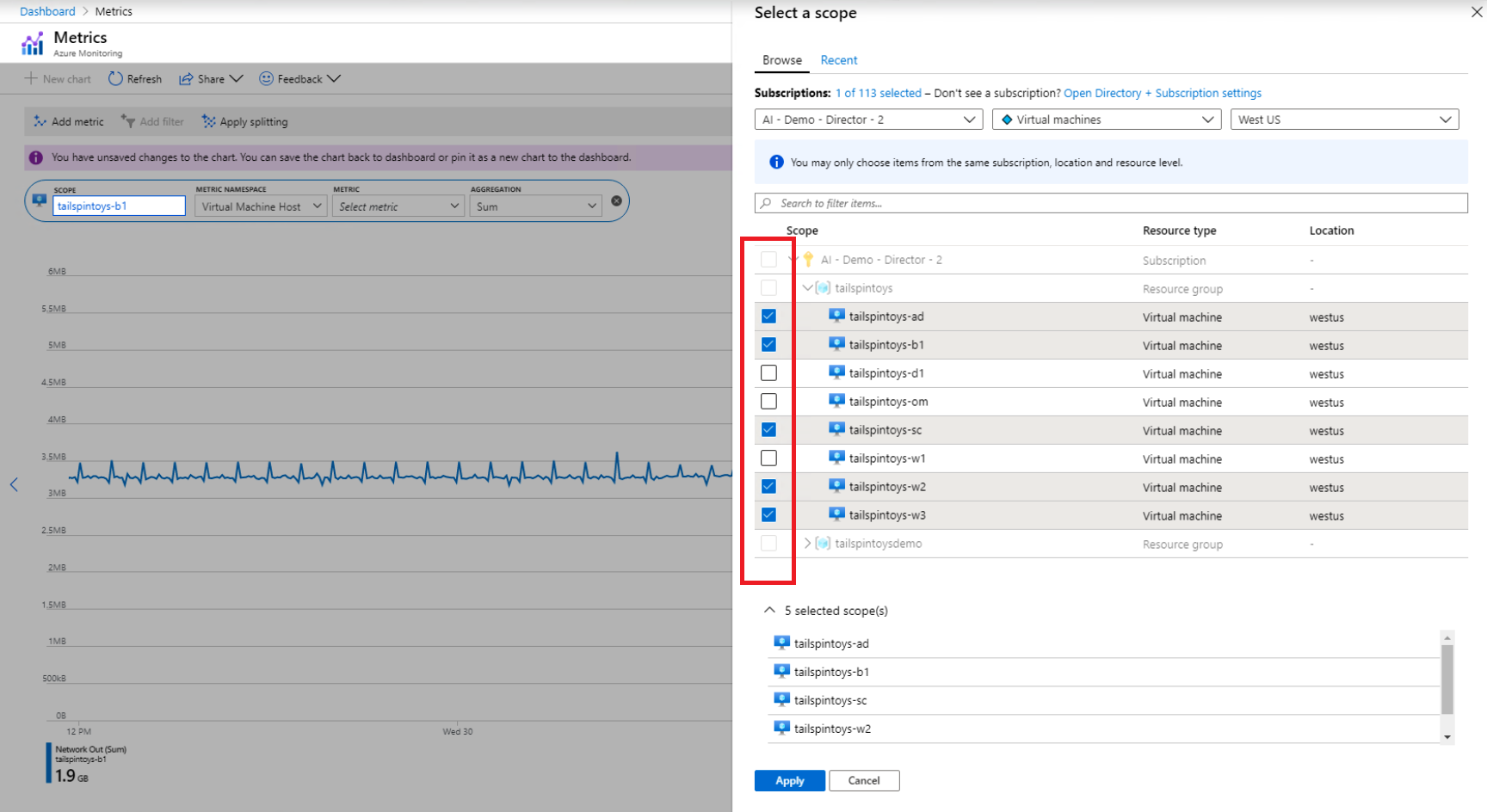 New features in Azure Monitor metrics explorer based on your feedback