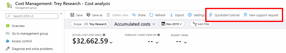 Azure Cost Management updates – November 2019