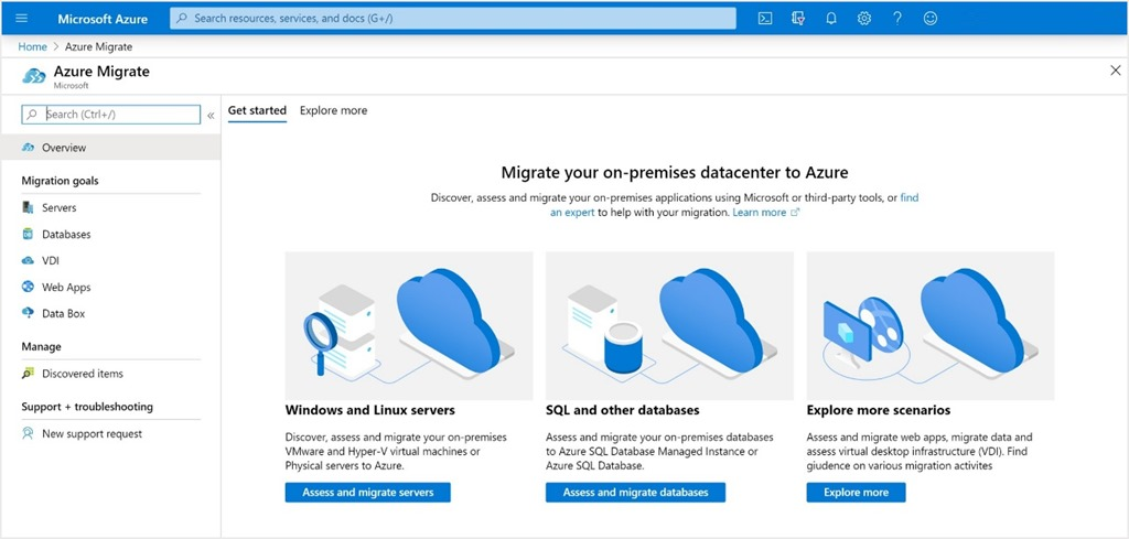 Azure Migrate now available in Azure Government