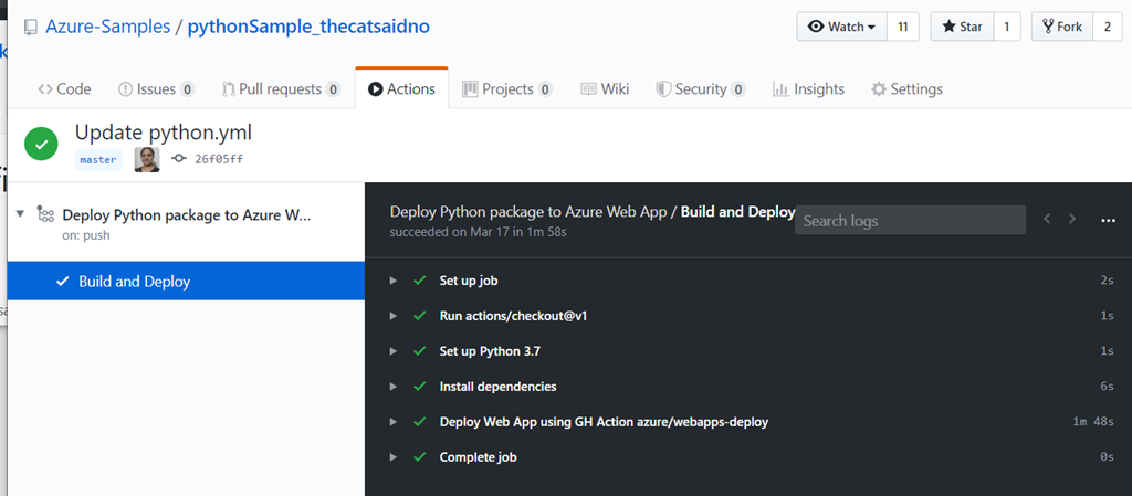 Deploy to Azure using GitHub Actions from your favorite tools