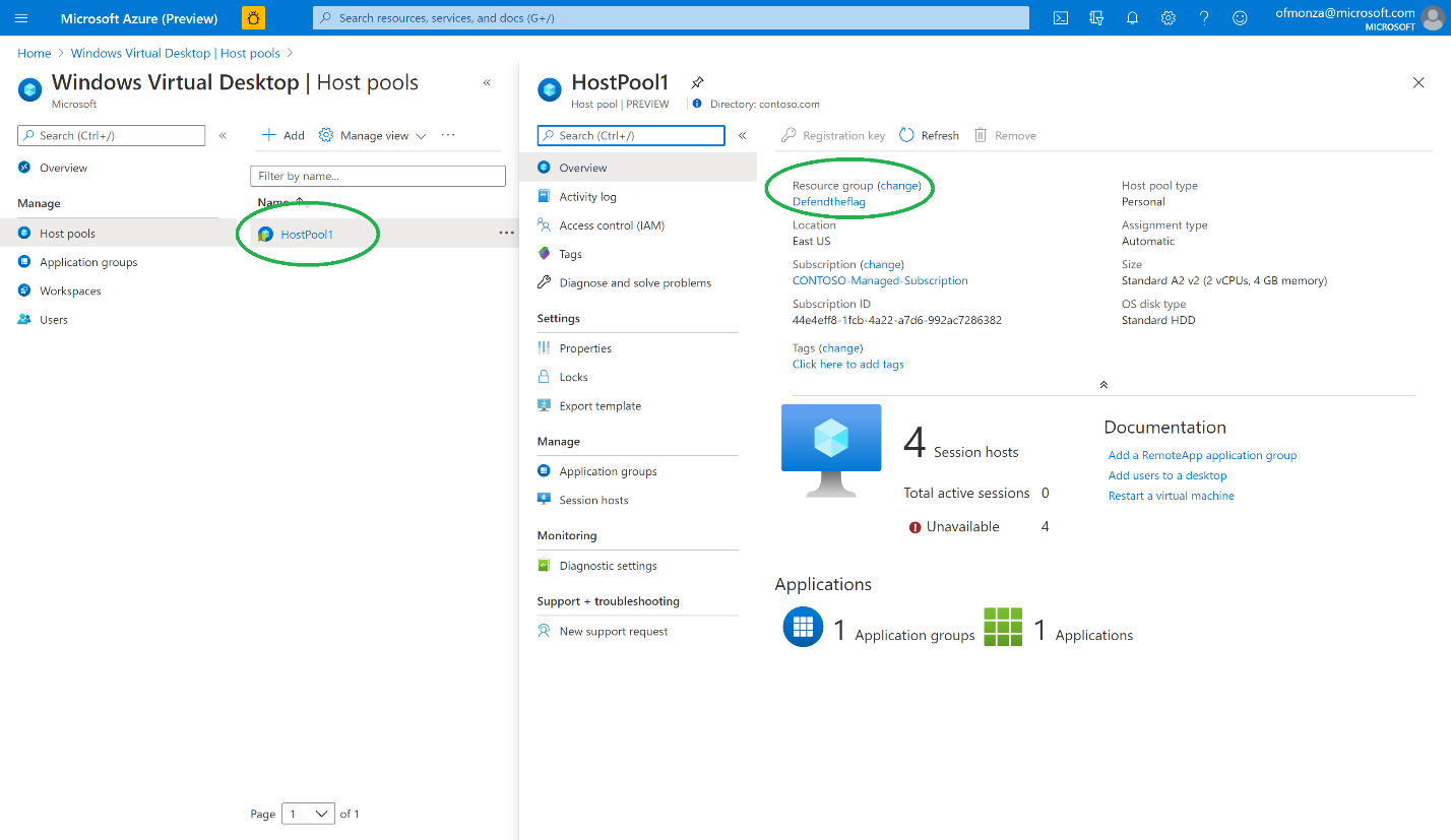 Protecting Windows Virtual Desktop environments with Azure Security Center