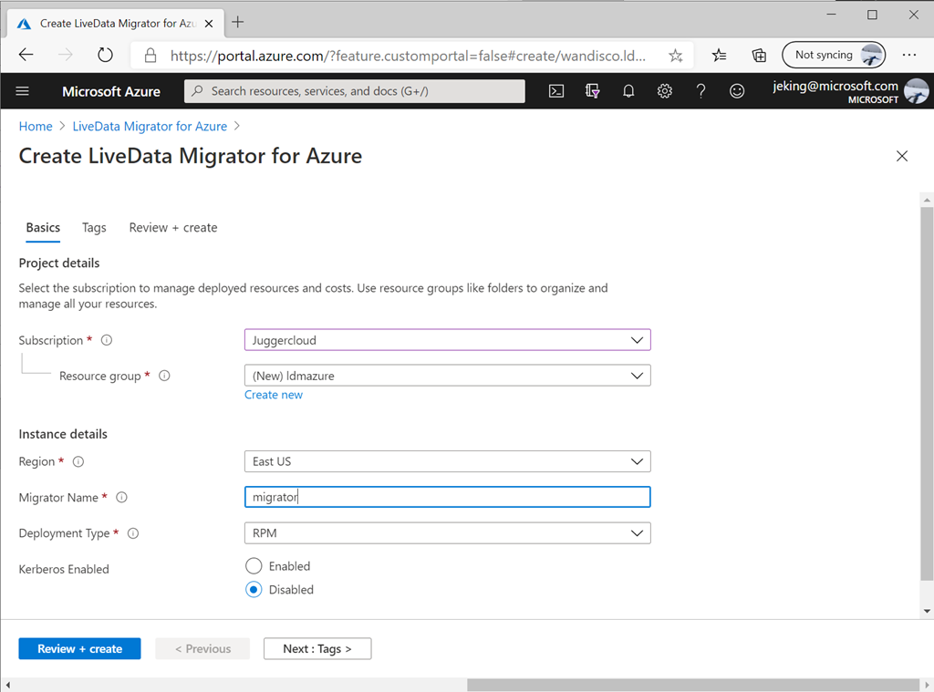 Migrate your Hadoop data lakes with WANDisco LiveData Platform for Azure