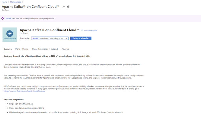 Introducing seamless integration between Microsoft Azure and Confluent Cloud